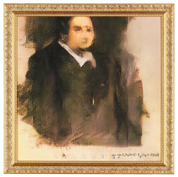 Фото №1 - На Christie's впервые продали картину авторства искусственного интеллекта