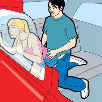 Секс в машине и позы
