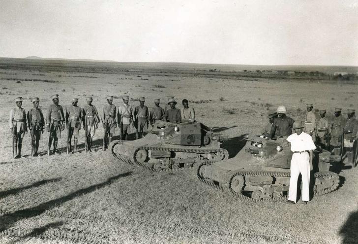 Фото №1 - Самые странные способы обезвредить танк— танк!— в истории войн