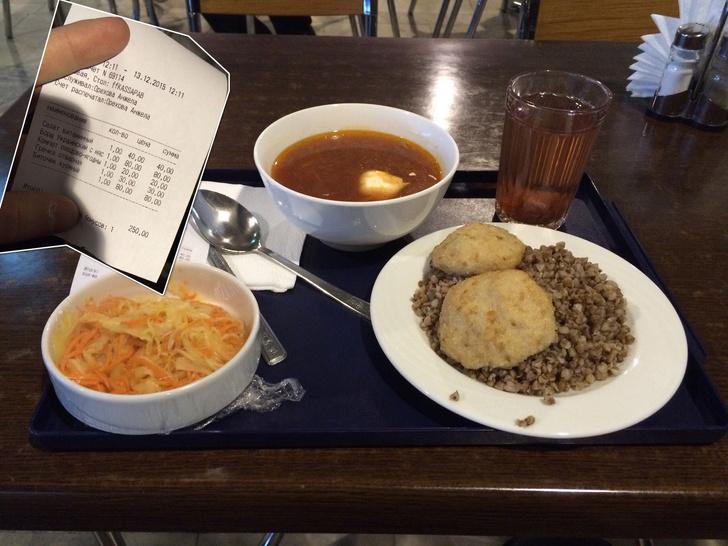 Фото №1 - Как дешево и (иногда) вкусно поесть в московских аэропортах