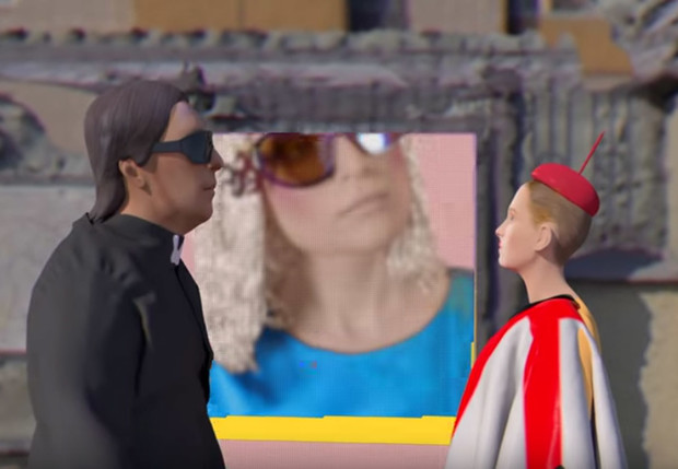 Фото №1 - У «Би-2» и Монеточки вышел совместный клип, и он очень странный