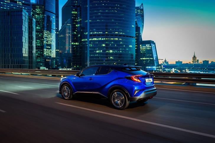 Фото №4 - Cool, Hot, Ride: все подробности о новом Toyota C-HR