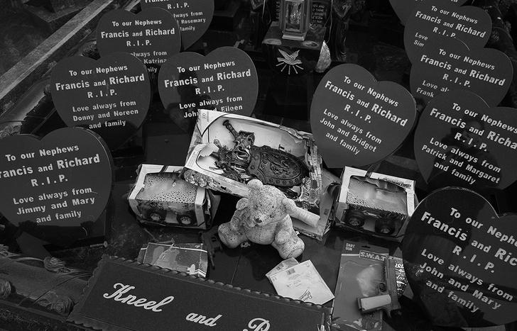 Детское кладбище в Голуэй