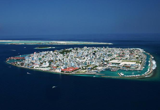 Мале — самая странная столица в мире, состоящая из четырех островов