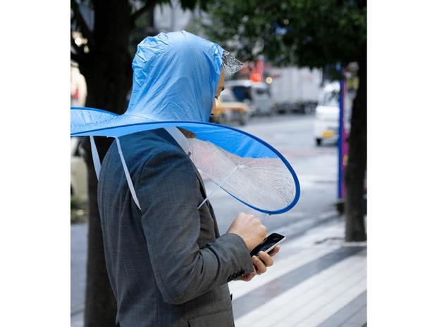 Фото №2 - Японский аналог зонта, которым почему-то никто не хочет пользоваться