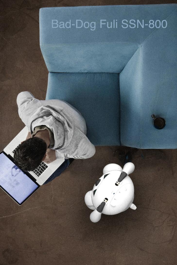 Фото №2 - Отличный подарок с подвохом: робособака, которая бьется током