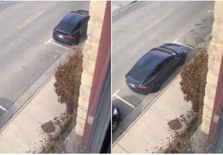 Парень победил систему платной парковки, используя одну из функций «Теслы»