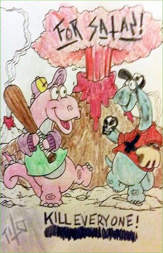 Фото №10 - Я безбожник, я так вижу: Когда детская раскраска превращается в запрещенную литературу