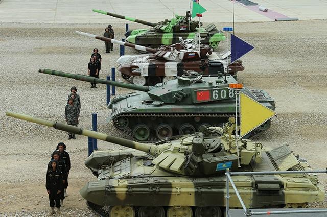 Фото №3 - Биатлон для танков пройдет в Подмосковье
