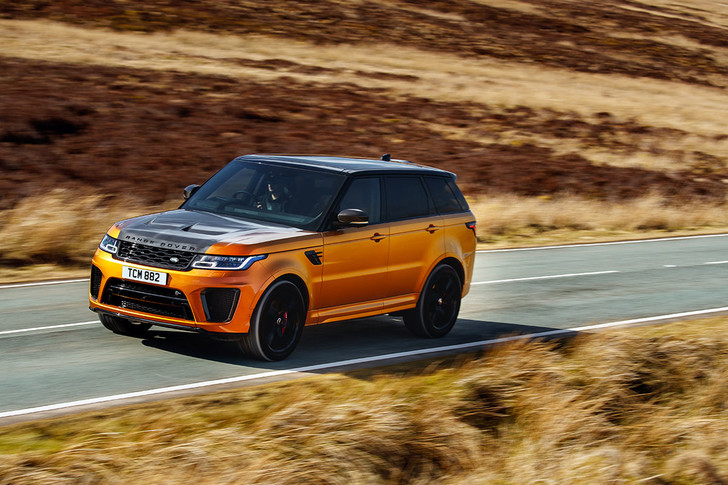Фото №1 - Range Rover Sport SVR: громобой