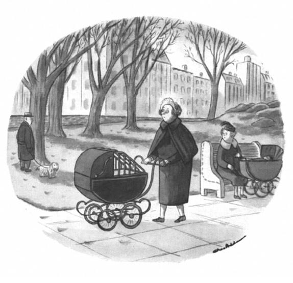 Карикатуры Чарльза Аддамса