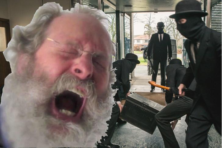 Фото №1 - 84-летний пенсионер голыми руками (и стулом) помог обезвредить троих грабителей