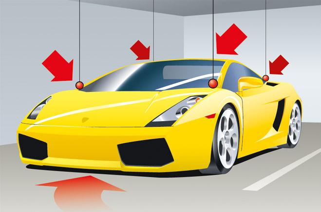 Ставить машину в гараж