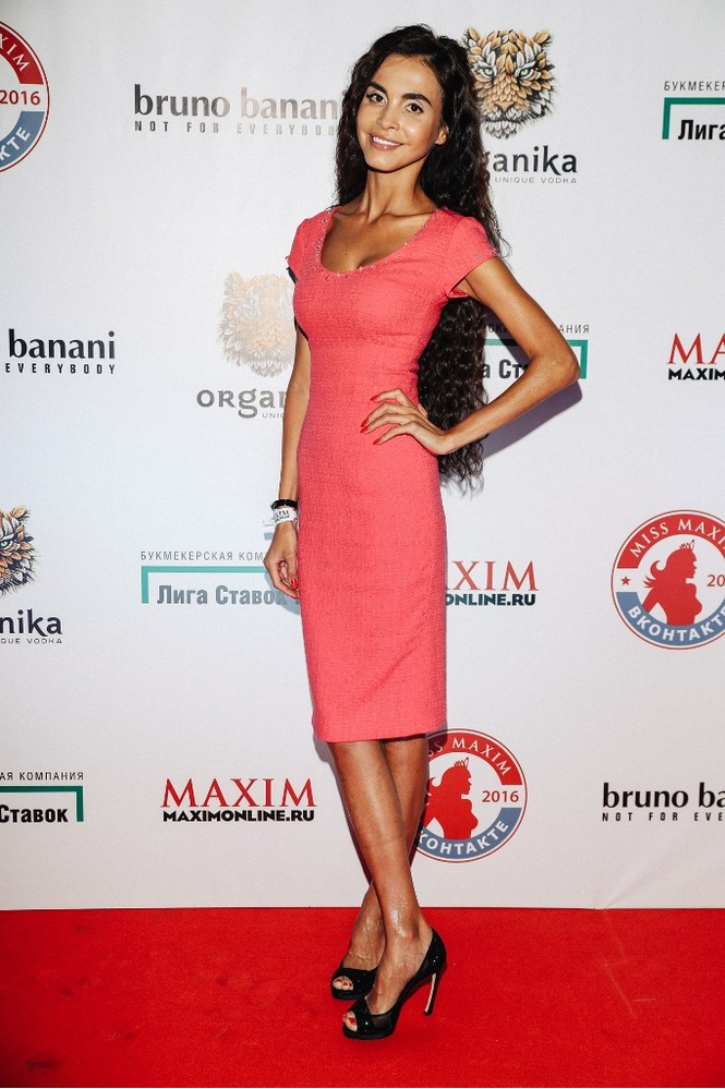 Юлия Богданова на финале «Miss MAXIM ВКонтакте 2016»