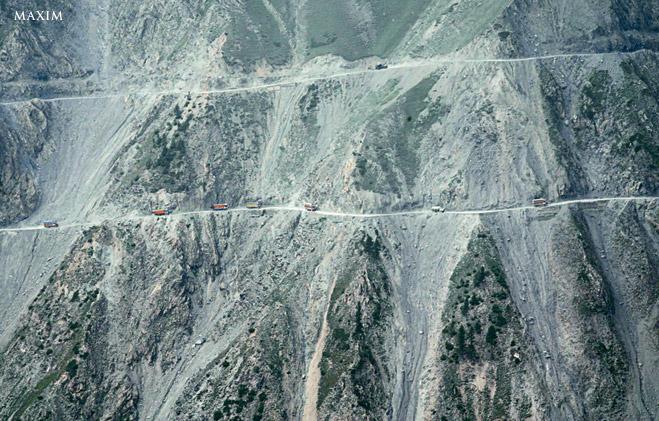 Фото №10 - Из пункта А-А-А-А-А! Семьужаснейших дорог планеты