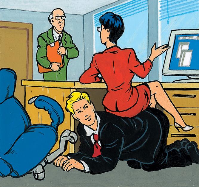 Фото №3 - Как вести себя с начальством, если оно — женщина