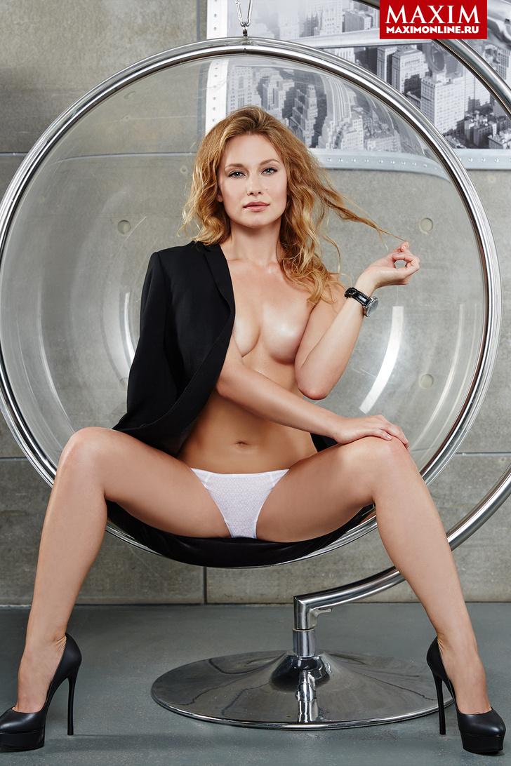 Фото №3 - Модель Дарина Туркова: «...Просто я достаточно гибкая и могу так повернуться»