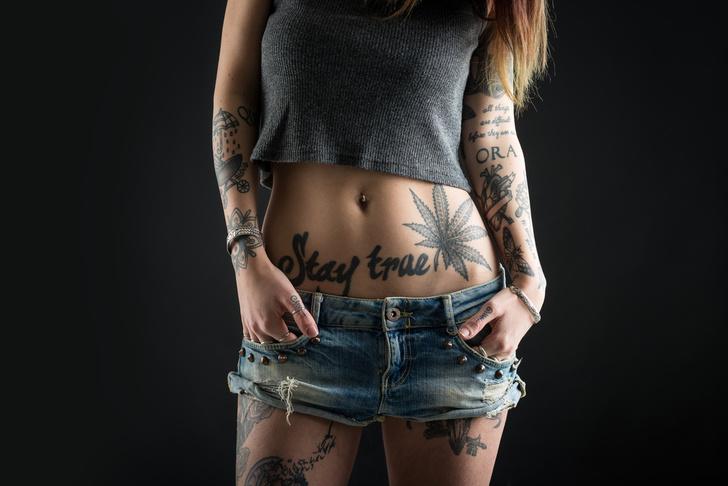 Фото №1 - Новая технология для тех, кто хочет сделать татуировку, но кишка тонка!