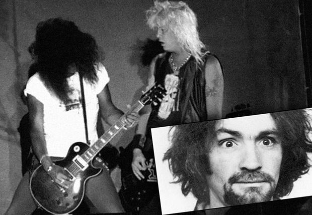 Фото №1 - История одной песни: Guns N' Roses поют песню маньяка Чарльза Мэнсона