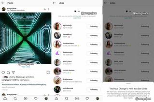 В Instagram могут убрать подсчет лайков
