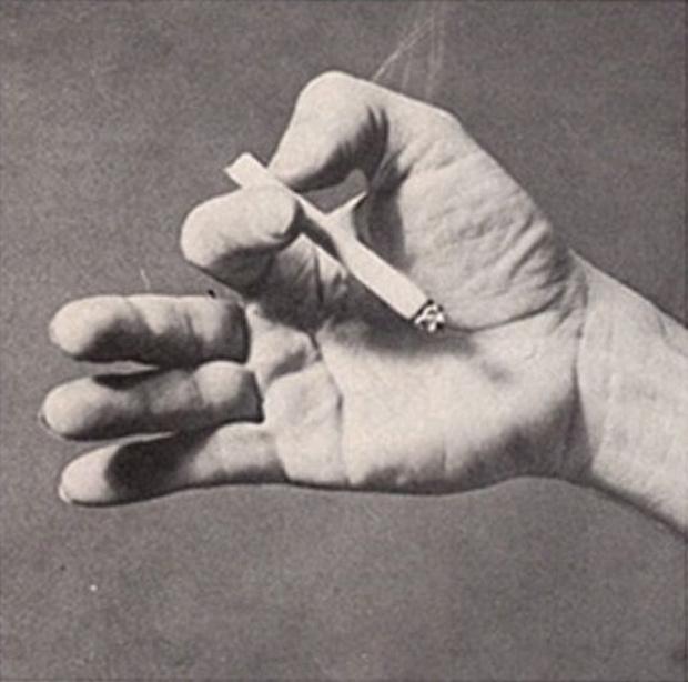 Фото №8 - Определить характер человека по тому, как он держит сигарету (ретротест в картинках)