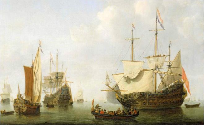 Война между Нидерландами и архипелагом Силли