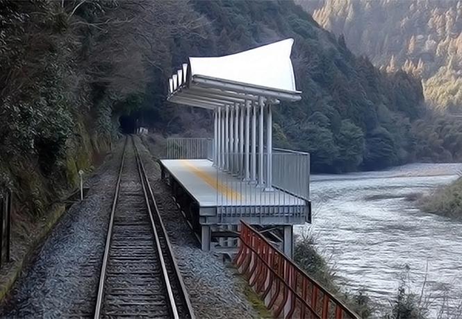 Фото №1 - Железнодорожная станция, на которую невозможно попасть