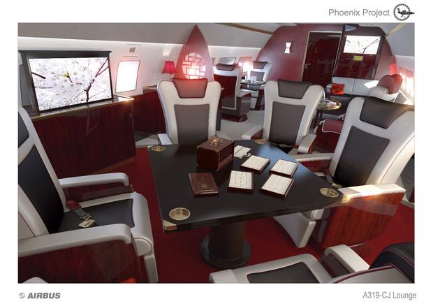 Фото №8 - Летающие лимузины! Как выглядят пассажирские самолеты, превращенные в частные
