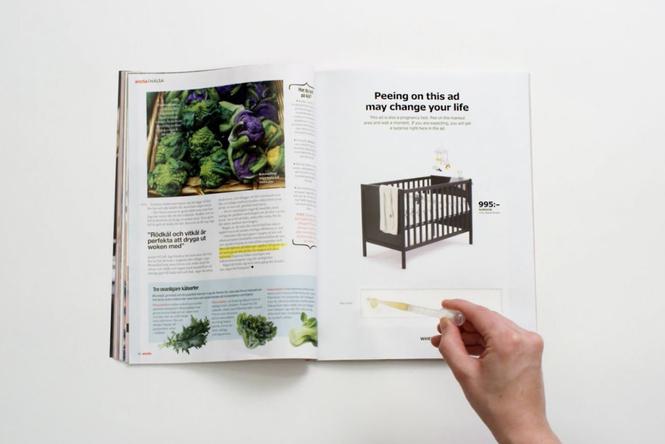 IKEA предлагает пройти тест набеременность для получения скидки
