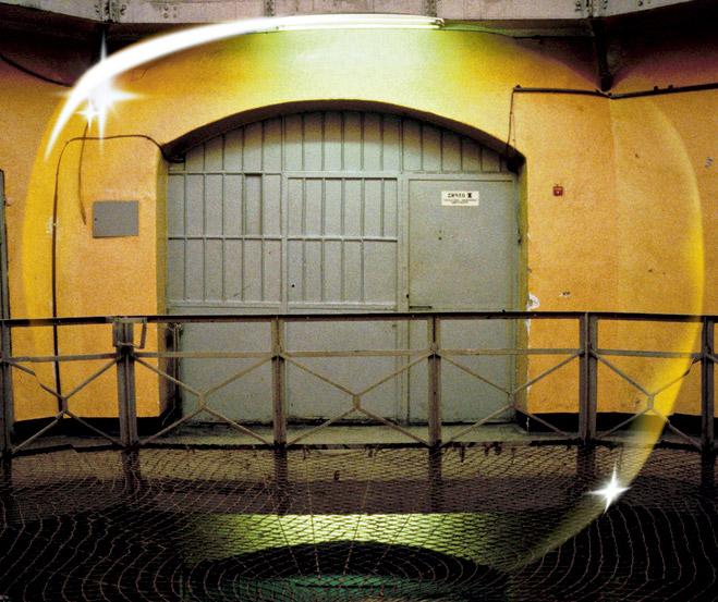 Дверь в камеру «Белых лебедей»