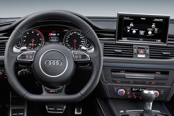 Фото №4 - Audi RS 7 Performance: 605 очень хитрых лошадей
