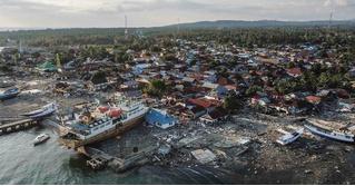 Последствия землетрясения и цунами в Индонезии (галерея)