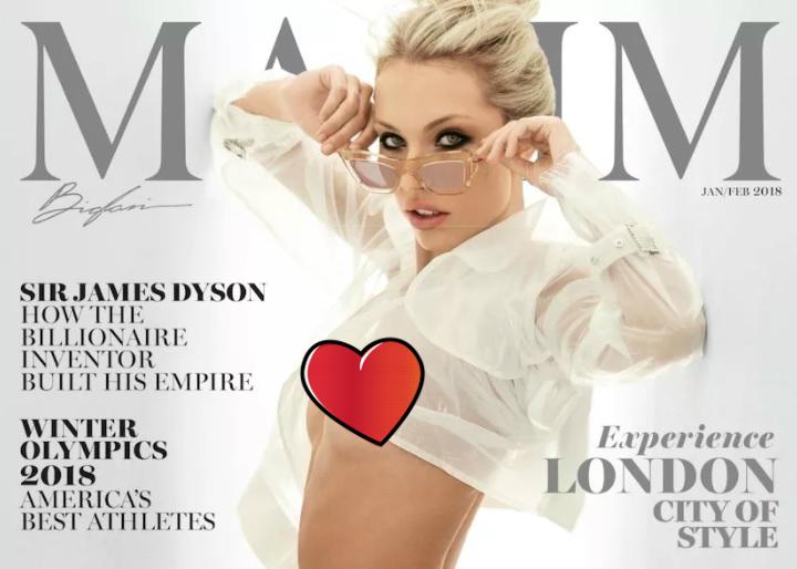Фото №1 - У американского MAXIM есть своя мисс MAXIM! Знакомься!