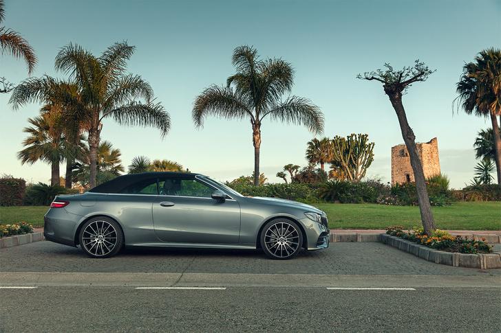 Фото №8 - Кабриолет Mercedes Е-Класса может вызвать неконтролируемые приступы счастья…