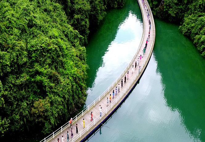 Идея для отпуска: река Кинг, Китай