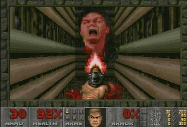Главный враг в Doom II