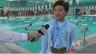 Десятилетний мальчик (предположительно с Криптона) побил рекорд Майкла Фелпса