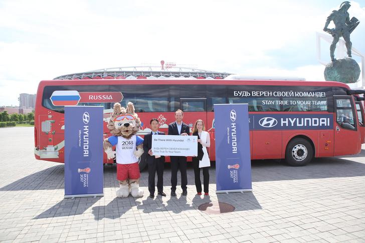 Фото №3 - Hyundai передаёт автомобили оргкомитету Кубка Конфедераций FIFA 2017