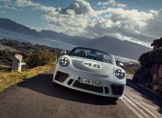 Porsche 911 Speedster: меньше значит больше