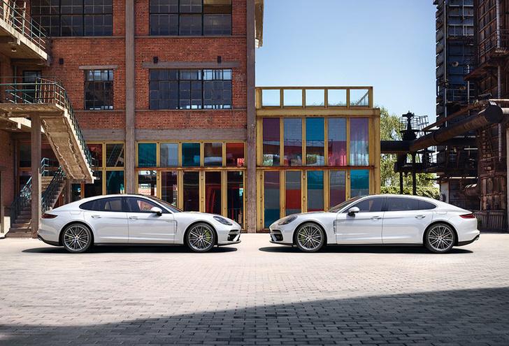 Фото №13 - Самый крутой гибрид в мире: Porsche Panamera Turbo S E-Hybrid