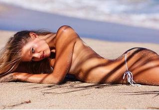 Русская модель снялась в знаменитом на весь мир пляжном приложении! Гордимся!