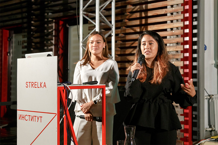 Продакт-менеджер BuzzFeed Сабрина Маджид и директор по глобальной адаптации BuzzFeed Милли Трэн