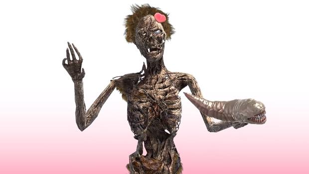 Фото №1 - Один из самых популярных видеоблогеров в Японии — полусгнивший зомби (видео)