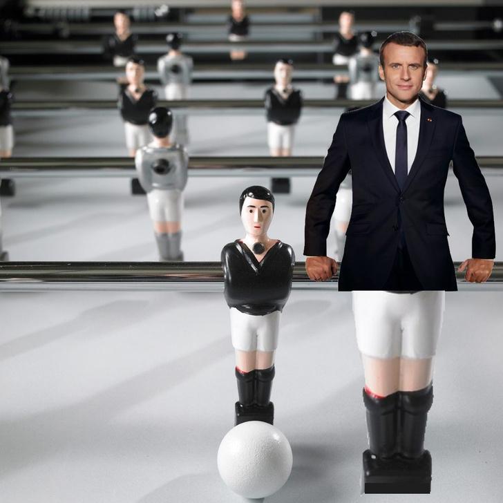 Фото №10 - Лучшие фотожабы на президента Франции Эммануэля Макрона!