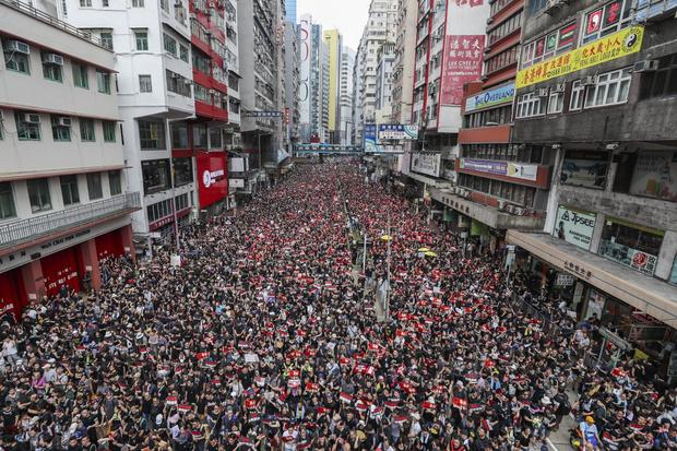 Фото №1 - Протест года: что происходит в Гонконге