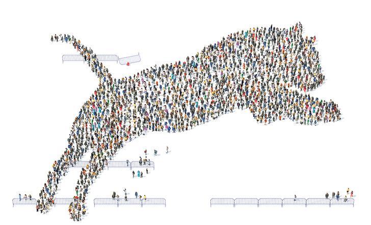 Фото №6 - Толпой и еще толпее: рассказ о том, почему люди, собравшиеся большими группами, начинают вести себя странно