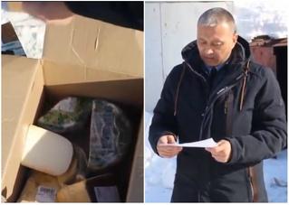 Чиновник зачитал сыру приговор перед сожжением (видео)