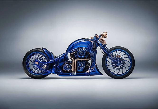 Фото №1 - Знакомься: самый дорогой мотоцикл в истории! Угадай, от какой фирмы!