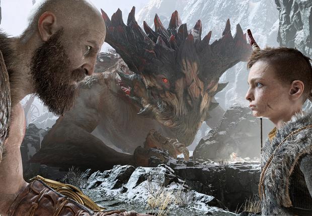 Фото №7 - Татуировка, борода и топор: почему все говорят о новой God of War