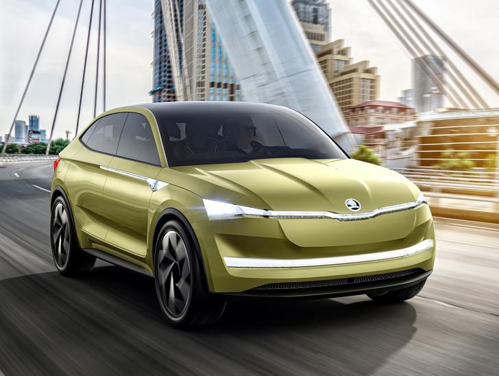 Фото №6 - Концепт Skoda Vision E намекает китайцам, как надо делать машины